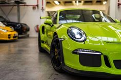 Birch Green Porsche 911 GT3 RS by Porsche Exclusive