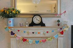 Lovely bunting by Cupcake Jo