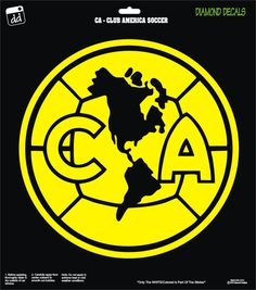 Club America Soccer Team Decal Campeon Aguilas Mexico Vinyl Car Truck Window Laptop by DiamondDecalz