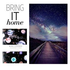 """Bring It Home: Marble Galaxy Notebook"" by polyvore-editorial ❤ liked on Polyvore featuring interior, interiors, interior design, home, home decor, interior decorating, Nikki Strange and bringithome"