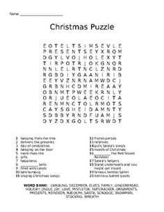 Journeys 5th grade unit 4 lesson 17 vocabulary frayer graphic students of all ages will have a great time searching for their favorite christmas vocabulary words fandeluxe Images
