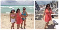 travel tuesday: wearing a convertible dress as a beach coverup