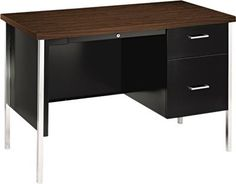 Staples®. has the HON® 34000 Series Single Pedestal Desk you need for home office or business. FREE delivery on all orders over $19.99, plus Rewards Members get 5 percent back on everything!