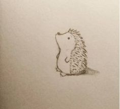 Day 150 - Cute hedgehog pencil drawing. #Hedgehog #cute #animal #drawing #art