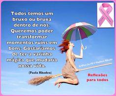 """Acesse: """"Todos temos um bruxo..."""" Participe da campanha #OutubroRosa (como fazer o auto exame de câncer da mama) , clique na imagem."""