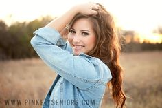 Senior pictures :) I like this pose!
