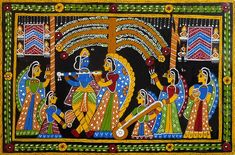 Radha Krishna with Gopinis - Wall Hanging (Tikuli Painting on Hardboard) Tikuli Paintings from Bihar HAPPY PUTHANDU ! PHOTO GALLERY  | IMAGES.TAMIL.INDIANEXPRESS.COM  #EDUCRATSWEB 2020-04-13 images.tamil.indianexpress.com https://images.tamil.indianexpress.com/uploads/2020/04/b427-300x164.jpg