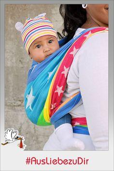 Tragetuch San Francisco #Hoppediz #AusLiebezuDir #babywearing #tragetuch