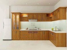 (Made Of Wood) Kitchen Design ideas Brown Kitchen Designs, Simple Kitchen Design, Kitchen Cupboard Designs, Kitchen Cabinet Styles, Kitchen Room Design, Modern Kitchen Cabinets, Best Kitchen Designs, Home Decor Kitchen, Interior Design Kitchen