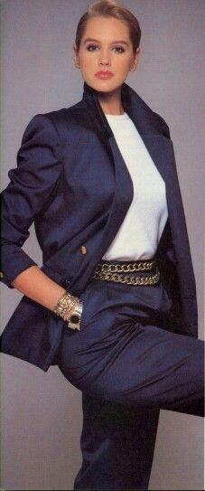 Photo Eric Boman Model Ashley Richardson 80's