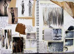 art sketchbook fashion ideas - Google Search