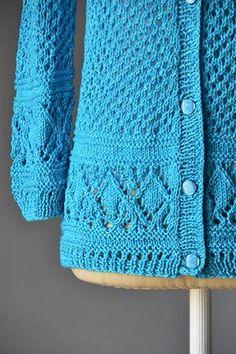 Kaye Cardigan Free Knitting Pattern