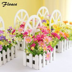 Floace Wall Fence Kit Pastoral artificial flowers silk flowers  living room bedroom decor