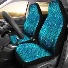 Sparkly Mermaid Scale Car Seat Covers (Set Of Sparkly Mermaid Scale Autositzbezüge My Soul & Spirit Mermaid Crafts, Mermaid Art, Vintage Mermaid, Mermaid Paintings, Tattoo Mermaid, Mermaid Mermaid, Mermaid Tails, Mermaid Scales, Car Seat Cover Sets