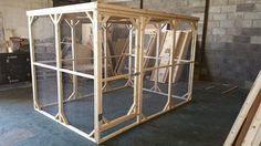 Amazing Pet Aviary with solid roof coming in at a size 9x6x6ft Aviary  Handmade By Boyles Pet Housing