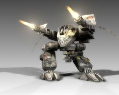 Goliath Autocannon Fire by ~SgtHK on deviantART
