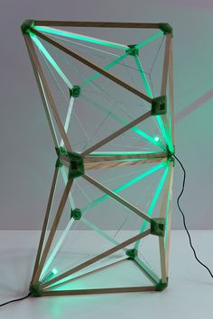 olafur eliasson green light is metaphorical beacon for refugees and migrants in austria, which testifies to the agency of contemporary art and its potential to initiate processes of civic transformation. Studio Olafur Eliasson, Green Led, Green Lights, Icelandic Artists, Geometric Lamp, Cool Lamps, Light Project, Light Installation, Light Art