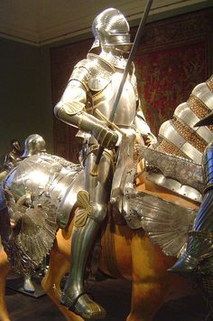 ca. 1490-1511 - 'composite armour for Emperor Maximilian I', South German and Netherlandish, Kunsthistorisches Museum Wien, Austria