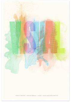 CVA Visual Poster | Design: Studio On Fire | Client: College of Visual Arts | Image 1 of 4