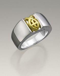 Sterling Silver Women's Loyal Ring Jewelry Urn