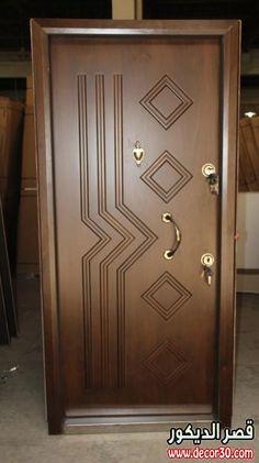 its simple and nice Flush Door Design, Single Door Design, Wooden Front Door Design, Home Door Design, Bedroom Door Design, Wood Front Doors, Door Design Interior, Interior Doors, Modern Wooden Doors
