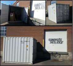 CrossFit Select enjoy your new storage 10' storage container!