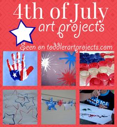 4th of July Art Projects for Toddlers