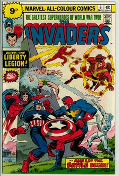 Invaders 6 (VF/NM 9.0) pence