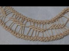 Βελονιά/Λασέ/Tutorial #26 - YouTube Romanian Lace, Point Lace, Needle Lace, Plexus Products, Chic Outfits, Crochet Necklace, Gold Necklace, Couture, Embroidery