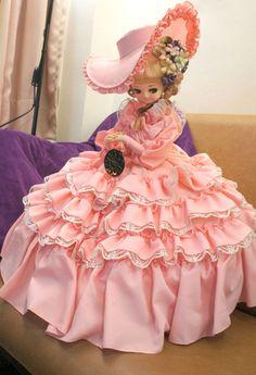 Vintage Japanese Big eye doll, Bradley doll, pink palace dress in Dolls & Bears, Dolls, By Material | eBay