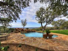 texas ranch. zebras, white bull, cool animals. awesome view Photo of Luxury Ranch on Lake Travis