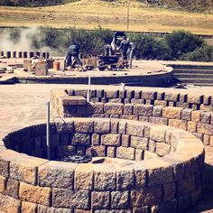 Our fire pit! Yellowstone Hot Springs, Yellowstone Park, Montana, Crisp, Outdoors, Fire, Autumn, Explore, Adventure