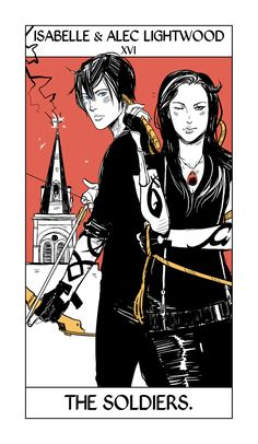 Isabelle and Alec Lightwood