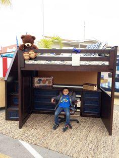 Kids Alley Factory Direct Custom Furniture David Loft Bunk Bed