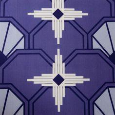 art deco textiles | art deco sunburst fabric photo of an 8x8 inch section of the art deco ...