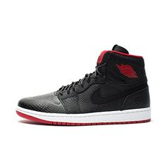 more photos 2df00 89a36 Jordan Men s Air 1 Retro High NOUV, BLACK GYM RED-WHITE, .