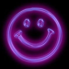 glow in the dark smiley face