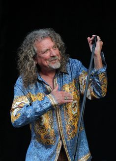 Robert Plant performs at day two of Pinkpop Festival at Megaland on June 8 2014 in Landgraaf Netherlands