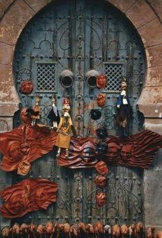 Puppets and Door
