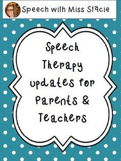 Free! Speech Therapy Communication Cards