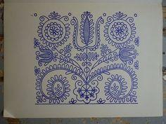 Hungarian Embroidery, Kalotaszeg
