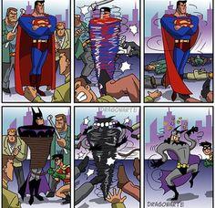 batman and superman funny
