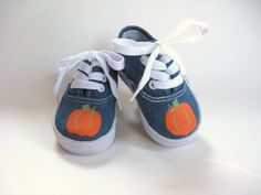 Boys Pumpkin Shoes Baby and Toddler Fall by boygirlboygirldesign, $28.00