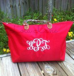 Monogrammed Tote Bag, Bridesmaid Gift, Tote Bag