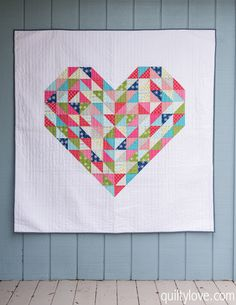 15 lovely heart quilt patterns [friday favorites]
