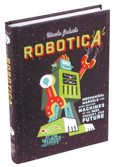 """Uncle John's Robotica"" will stimulate your humor sensors with hundreds of incredible stories about robots from the past, the present…and the future. Science Trivia, Science For Kids, Music Games, The Past, Presents, The Incredibles, Marvel, Robots, Fun"