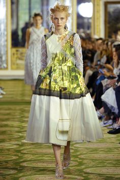 Simone Rocha knows a thing or two about the statement dress–see the full collection on Vogue.com