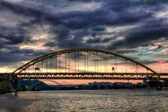 Pittsburgh sunset.