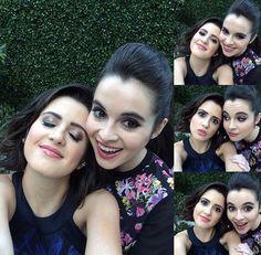Sisters Laura Marano and Vanessa Marano (2017)