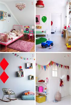 """""""colourful kids rooms"""""""